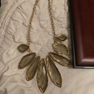Francesca's gold necklace